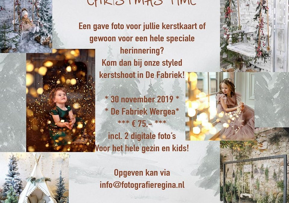 Styled kerstshoots