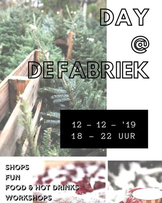 DAY @ De Fabriek kersteditie
