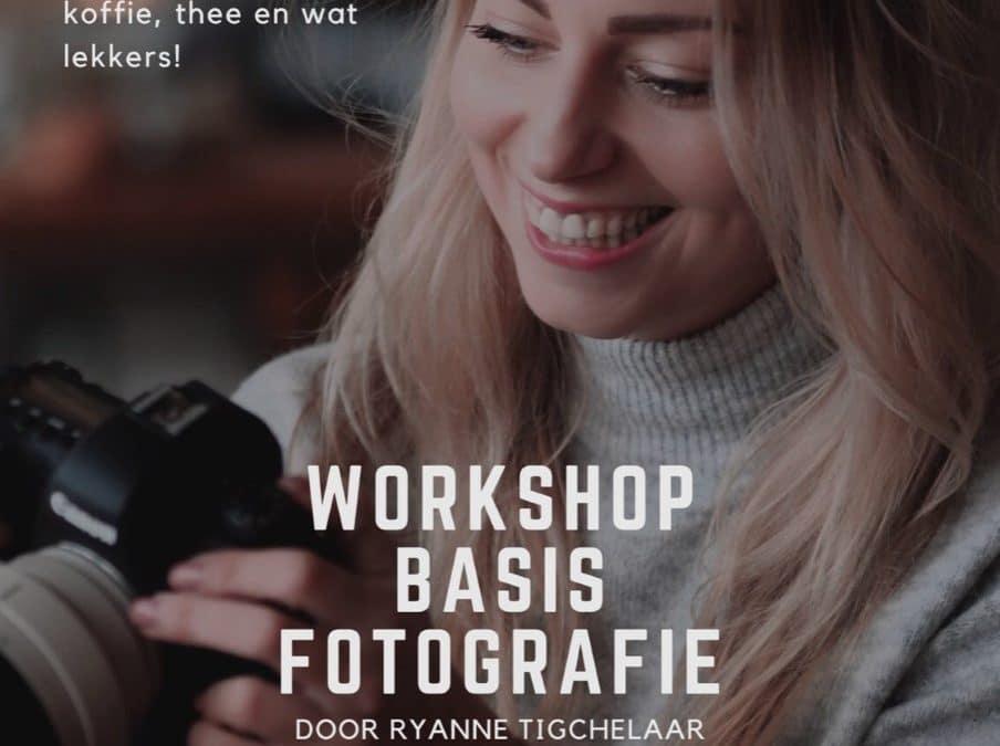 GEANNULEERD Workshop Basis Fotografie – nieuwe datum volgt