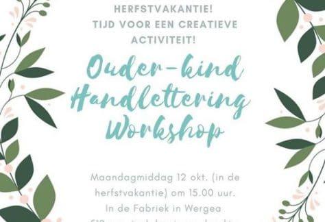 Ouder/kind workshop handlettering